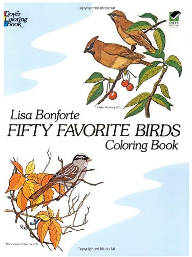 Fifty Favorite Birds Coloring Book (Dover Nature Coloring Book) front-926352
