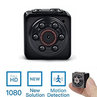 Mini Spy Hidden Camera -ENKLOV 1080P Portable Spy Voice Video Recorder Camera with Night Vision,Motion Detection,Indoor/Outdoor Use from Enklov