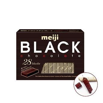 Japan bitter Choco / Japanese Chocolate - Meiji Black Chocolate Bouns Pack