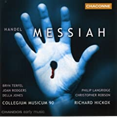 Handel - Messiah / Rodgers, D. Jones, Robson, Langridge, Terfel, Hickox