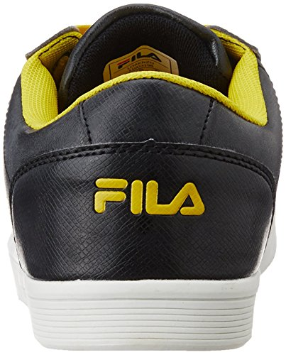 Fila-Mens-Lorenzo-Black-and-Yellow-Sneakers-6-UKIndia40-EU7-US