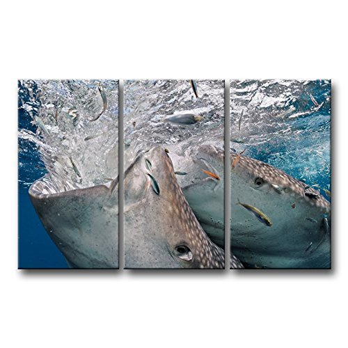Wooden Whale Wall Art front-1054273