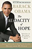 Image of Audacity of Hope Thoughts on Reclaiming the American Dream Later Printing