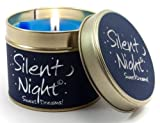 Lily Flame Scented Candle in a presentation Tin - Silent Night