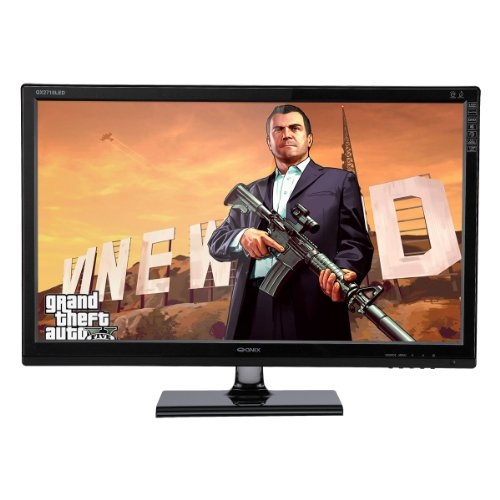 "Qnix Qx2710 Led Evolution Ii Multi True10 Se Matte 27"" 2560X1440 Ah-Va Dvi-D Hdmi Pc Monitor"