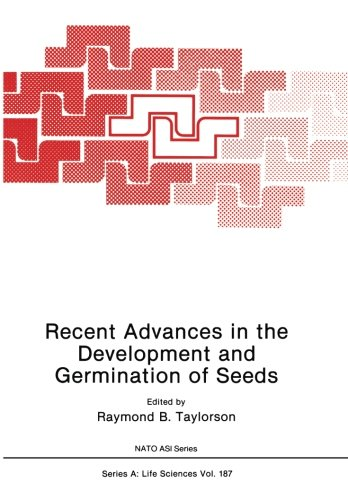 Recent Advances In The Development And Germination Of Seeds (Nato Science Series A:)