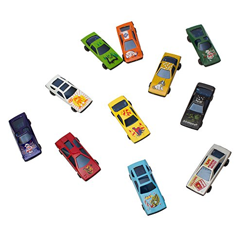 Fun Central AU028 Car Toys - Plastic Die Cast Race Cars - Assorted, 50ct (Toy Race Cars compare prices)