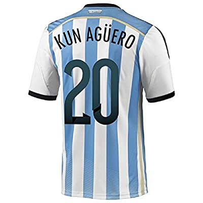 Adidas Kun Agüero #20 Argentina Home World Cup 2014 (XL)