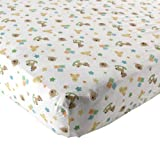 Luvable Friends Fitted Crib Sheet, Toys