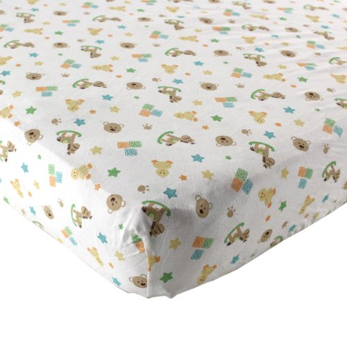 Luvable Friends Fitted Crib Sheet, Toys (Discontinued by Manufacturer)
