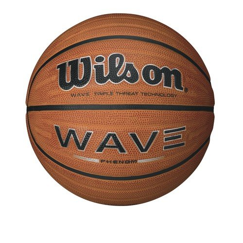 WILSON Wave Phenom Pallone da Basket, Marrone