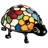 Quoizel Tiffany 1 Light Flowered Lady Bug Accent Lamp