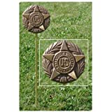 WWI Veteran Grave Marker - in Cast Bronze