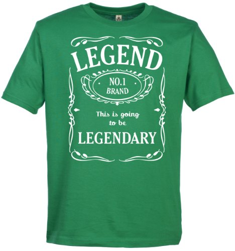 Legend This Is Going To Be Legendary Men's Novelty Slogan T-Shirt S, M, L, XL, XXL