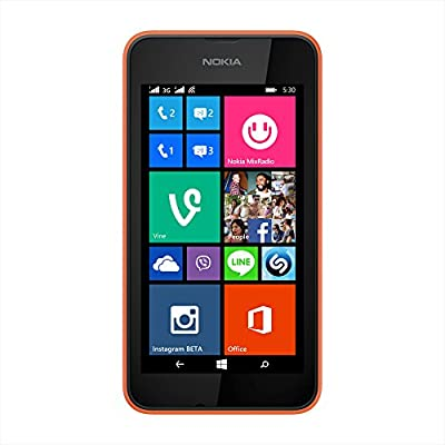 Nokia Lumia 530 (Dual SIM, Orange)