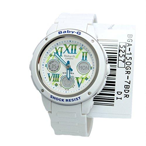 Casio Ladies Baby-G Analog-Digital Casual Quartz Watch (Asia Model) BGA-150GR-7B