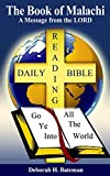 img - for The Book of Malachi: A Message from the LORD (Daily Bible Reading Series 24) book / textbook / text book