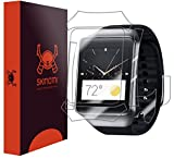 Skinomi® TechSkin - Samsung Gear Live Screen Protector + Full Body Skin Protector with Free Lifetime Replacement Warranty / Front & Back Premium HD Clear Film / Ultra High Definition Invisible and Anti-Bubble Crystal Shield - Retail Packaging