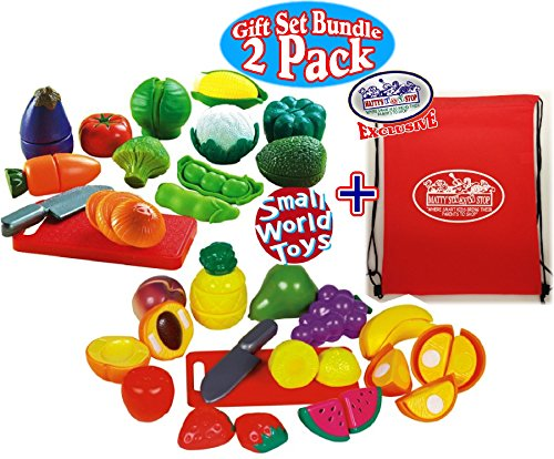 Small Toy Food : Small world toys living fun with fruit pcs peel n