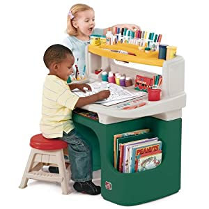 Amazon Com Step2 Art Master Activity Desk Toys Amp Games