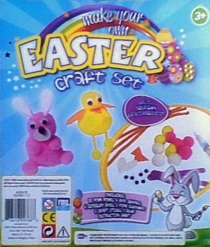 Easter Craft Kit - Pom Pom Bunny & Chick Kit