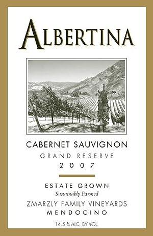 2007 Albertina Gold Medal Winner Grand Reserve Cabernet Sauvignon 1.5