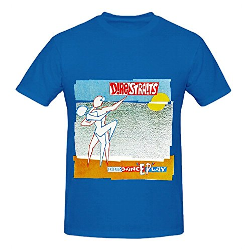 dire-straits-extendedanceplay-tour-soundtrack-men-crew-neck-short-sleeve-shirt-blue