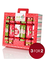12 Nostalgic Icons Family Pack Christmas Crackers