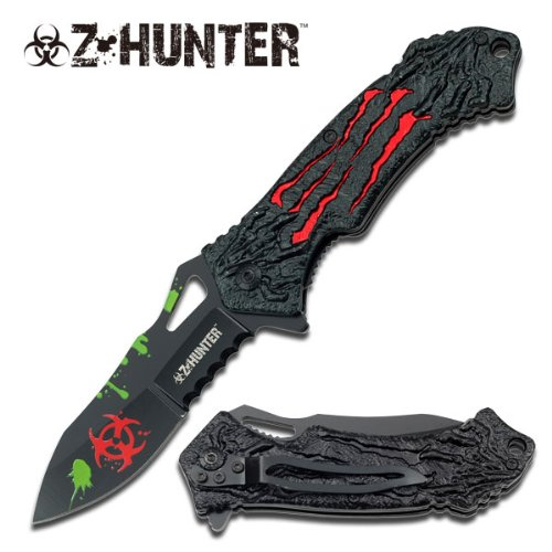 "Z-Hunter ""The Relic"" Knife - Red - A Must Have For Zombie Hunters"