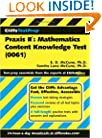 Praxis II: Mathematics Content Knowledge Test, 0061 (CliffsTestPrep)
