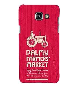 EPICCASE the farmer Mobile Back Case Cover For Samsung Galaxy A5 (2016) (Designer Case)