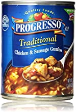 Progresso Traditional Chicken amp Sausage Gumbo Soup 19 oz Pack of 12