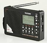 高感度オールバンドレシーバー pl505 Tecsun 短波 AM FM ラジオ ブラック