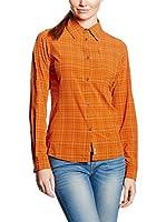 Salewa Camisa Mujer Fianit 2 Dry W L/S Srt (Naranja)