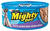Mighty Dog Hearty Pulled-Style Chicken Dinner In Gravy, 5.5-Ounce Cans (Pack of 24)