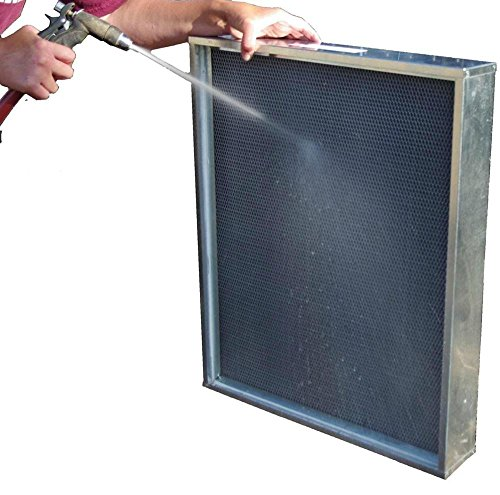 Heating, Cooling 3, 4, 5 and 6 inch thick washable filters - Replace expensive media filters