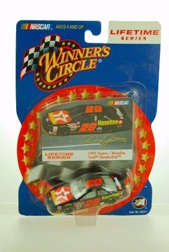 1995 Winner's Circle NASCAR Lifetime Series #28 Dale Jarrett Ford Thunderbird 1/64 Scale Car - 1