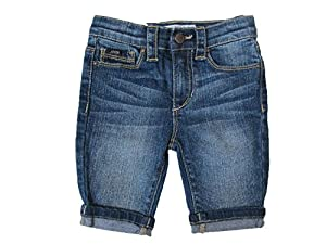 Joe's Bermund Rolled up Jean Shorts Infant/girls Size 18 Months Marib