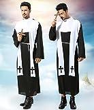牧師 ゴースト 神父 修道士 なりきり ものまね モノマネ 宴会芸 余興 変装コスプレ仮装ハロウィンコスチューム