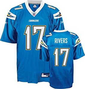 Reebok San Diego Chargers Philip Rivers Replica Alternate Jersey by Reebok