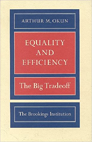 Equality and Efficiency, the Big Tradeoff ISBN-13 9780815764762