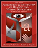 img - for Assessment & Instruction of Reading and Writing Difficulty: An Interactive Approach (3rd Edition) book / textbook / text book
