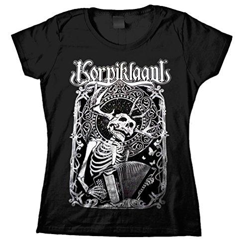 Korpiklaani - T-shirt - Donna nero Small