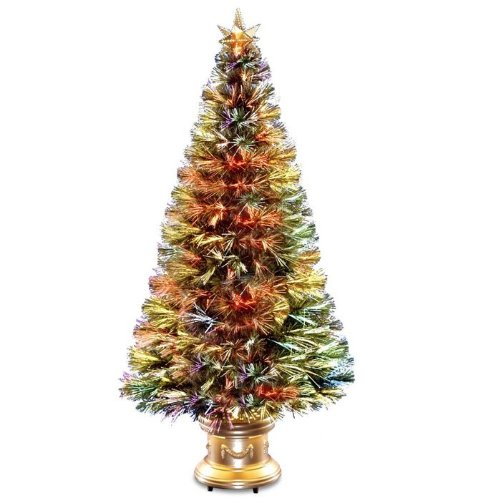 Fiber Optic Firework Christmas Tree  Decorative