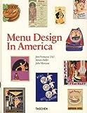 echange, troc Jim Heimann - Menu design in América (ingles)