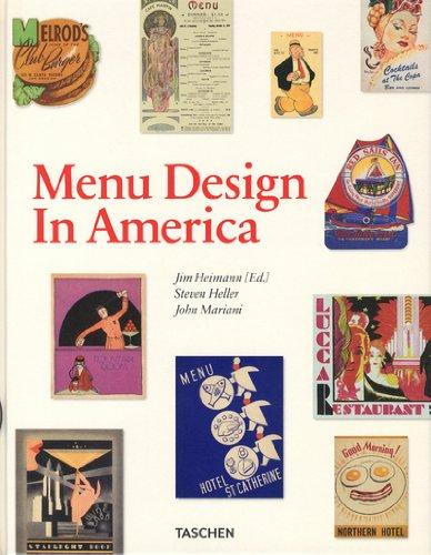 Menu Design in America: 1850-1985