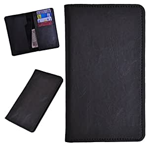 DCR Pu Leather case cover for Karbonn S2 Titanium (grey)