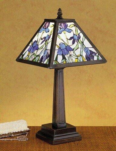 "Meyda Lighting 30886 19""H Mosaic Iris Accent Lamp front-1079156"