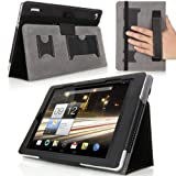 MoKo Acer Iconia A1-810 Case - Slim Cover Case for Acer Iconia A1-810 7.9-Inch Android Tablet, BLACK