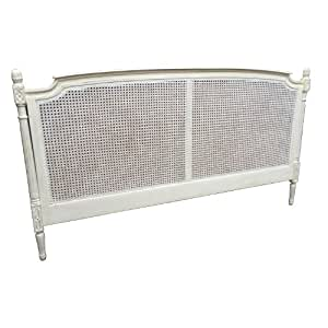 French Style Shabby Chic Cane Super King Size Headboard in ...